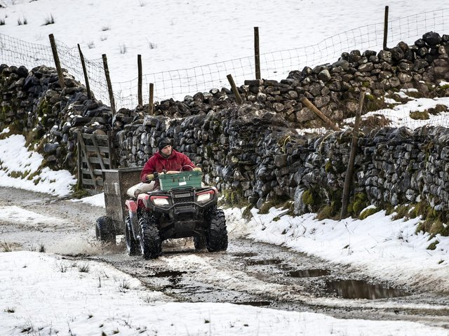 Quad bikes are vital for farmers in North Yorkshire but are often targeted by thieves