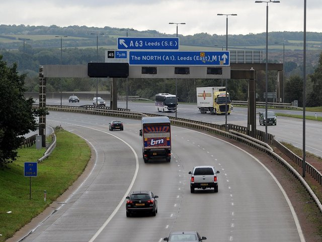 The roundabout at Lofthouse Interchange will be closed for eight weeks for maintenance work.