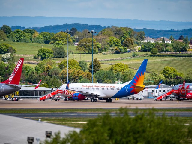 A video has been released showing what it will be like to fly from Leeds Bradford Airport as flights begin again after the coronavirus pandemic.