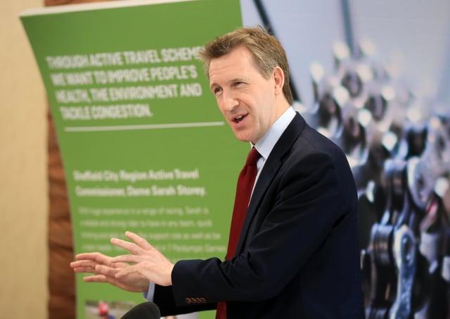 Dan Jarvis is mayor of Sheffield City Region.