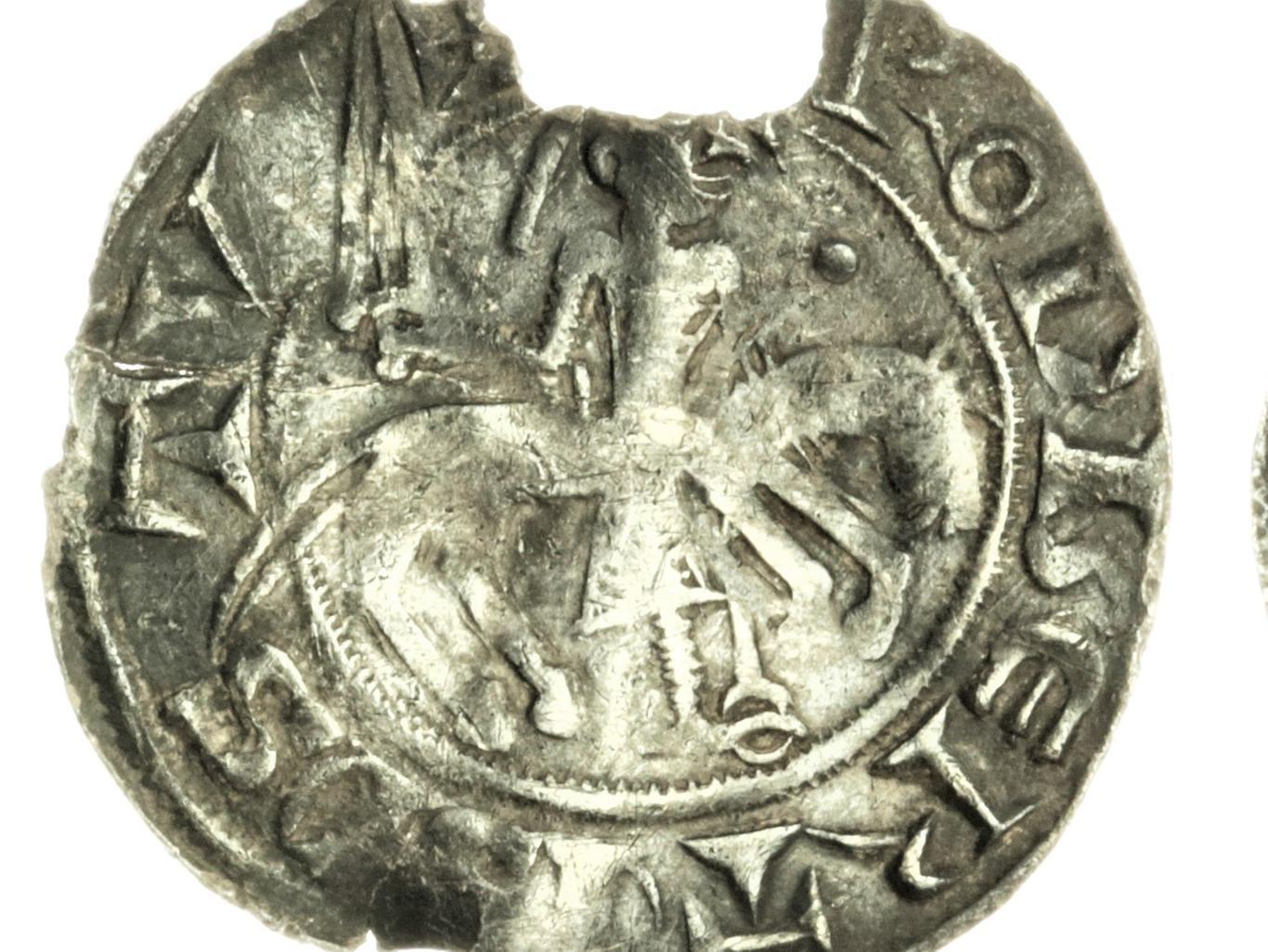 Rare silver coin depicting obscure Yorkshire baron which was found in a field to go under the hammer
