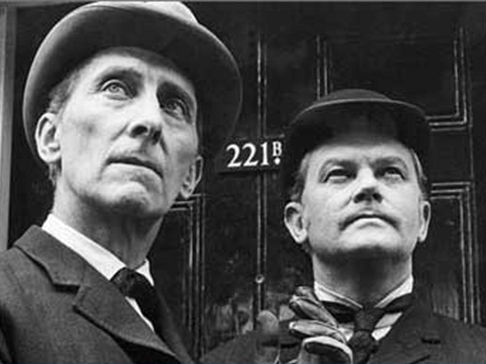 Sherlock Holmes fans overjoyed as lost Peter Cushing episodes uncovered - Tony Earnshaw