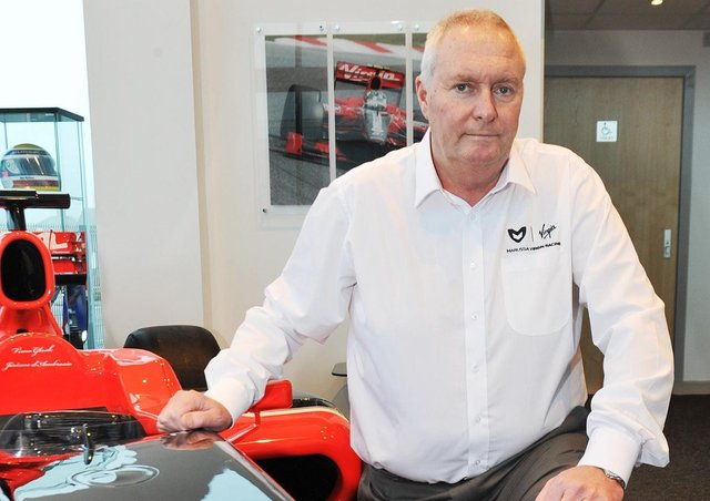 John Booth at Marussia Virgin Racing (Picture: Rachel Atkins)