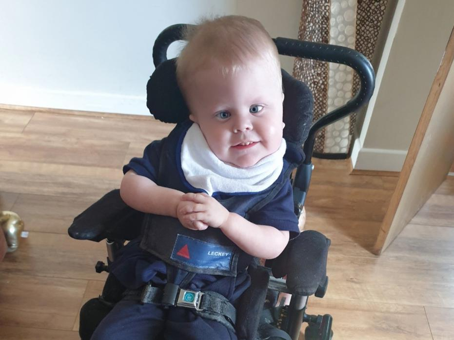 Parents of severely disabled Yorkshire boy dream of him walking with fundraiser