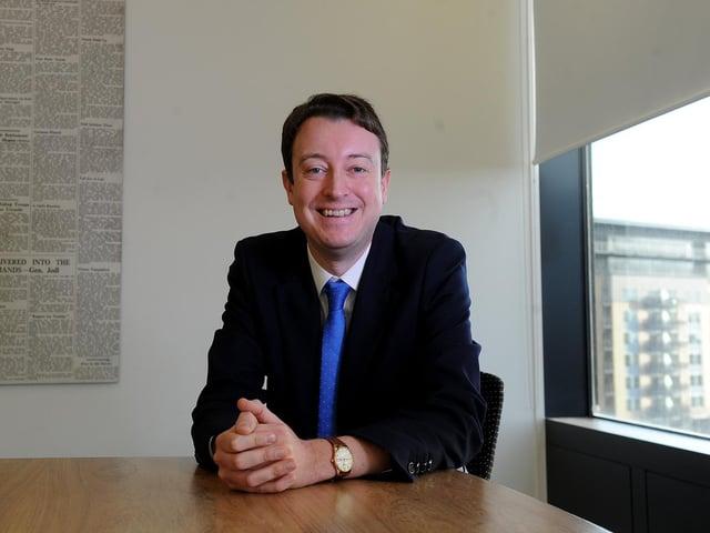 Local government minister Simon Clarke. Photo: JPI Media