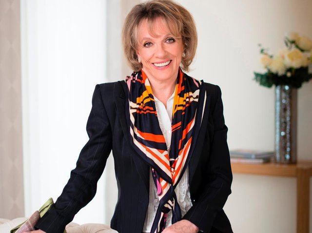 Childline founder Dame Esther Rantzen discusses her favourite books. Photo: NSPCC/PA.