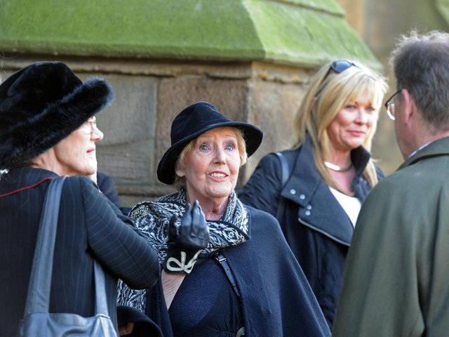 Actress Paula Tilbrook, pictured at a memorial service at Leeds Minster in 2013 for actor Richard Thorp