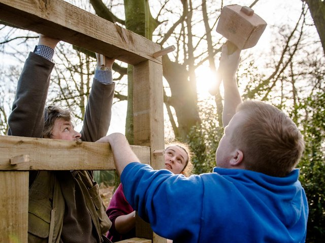 The Bright Sparks group in North Yorkshire gives young people the opportunity to learn traditional skills. Photo: JMA Photography supplied by Ignite Yorkshire.