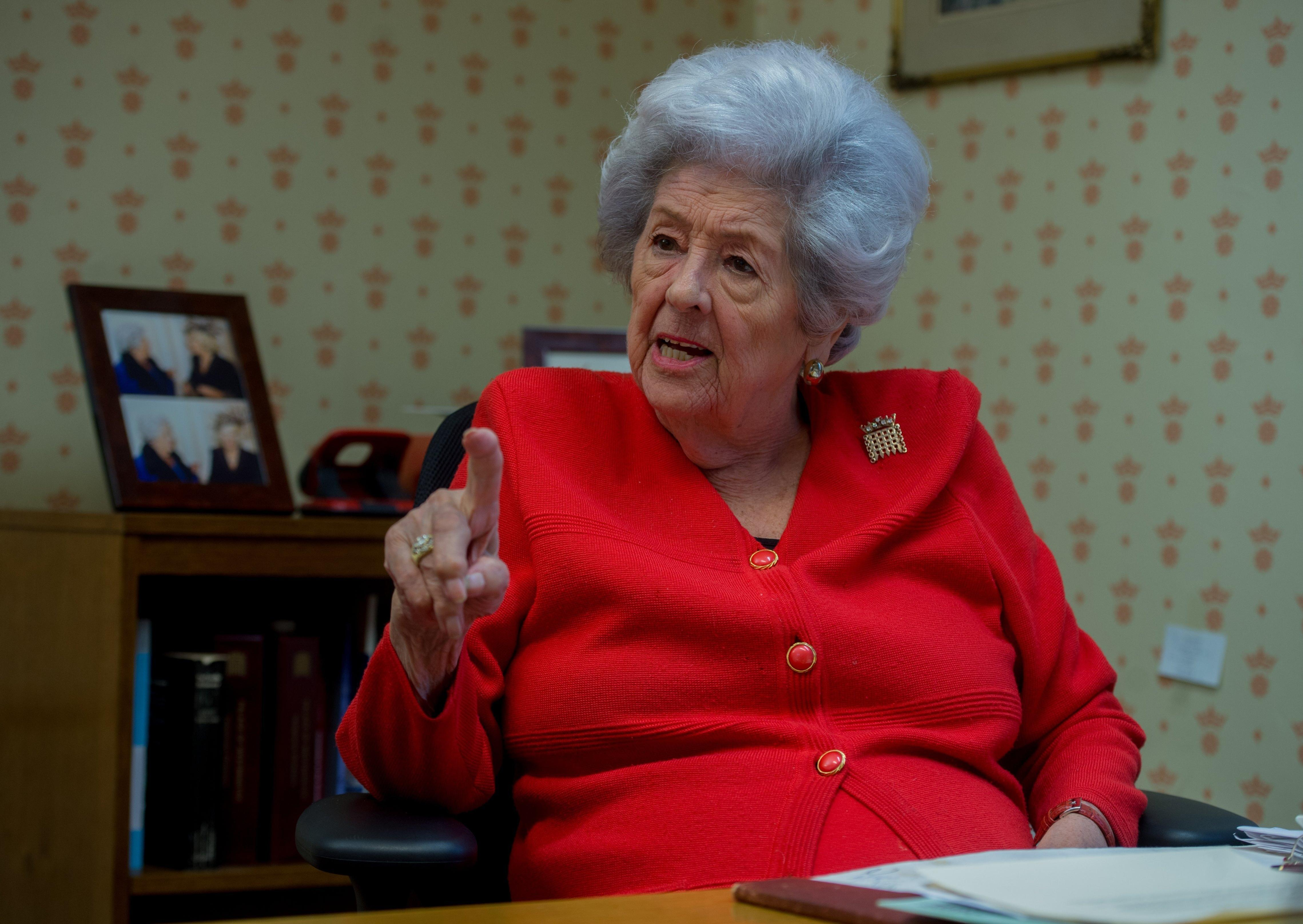 Betty Boothroyd's Yorkshire Day solidarity with current Speaker – Tom Richmond