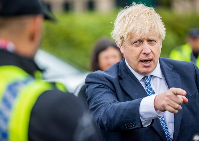 Can boris Johnson be trusted? This was the Prime Minister at North Yorkshire Police's headquarters last Thursday.