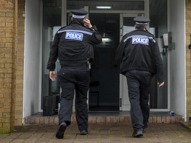West Yorkshire Police had 505 fewer police officers last year compared with 2011. Picture: SWNS
