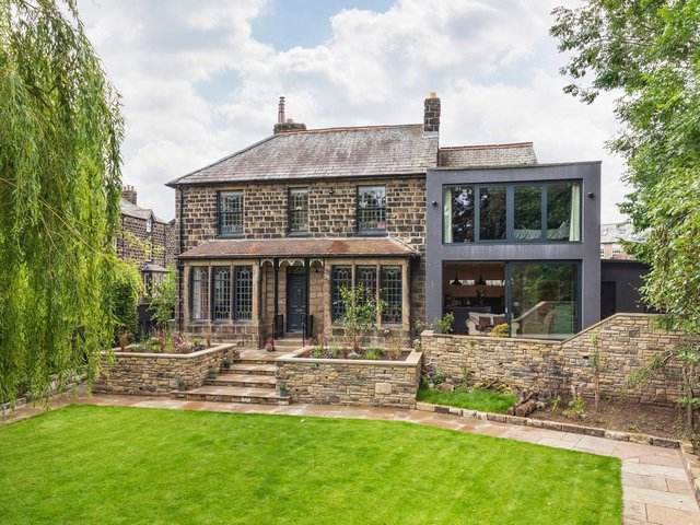 This Historic House In Otley Is For Sale With A Striking New Extension Yorkshire Post