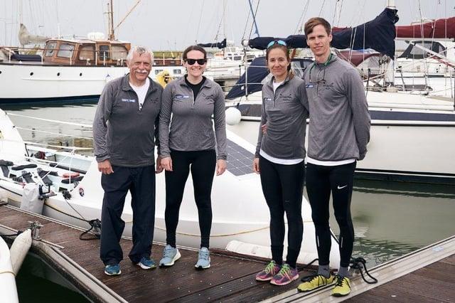 (LtoR) Roger Staniforth, Brittany Staniforth, Victoria Micó Egea and Edward Raymont.Pictures: Ian Dearman