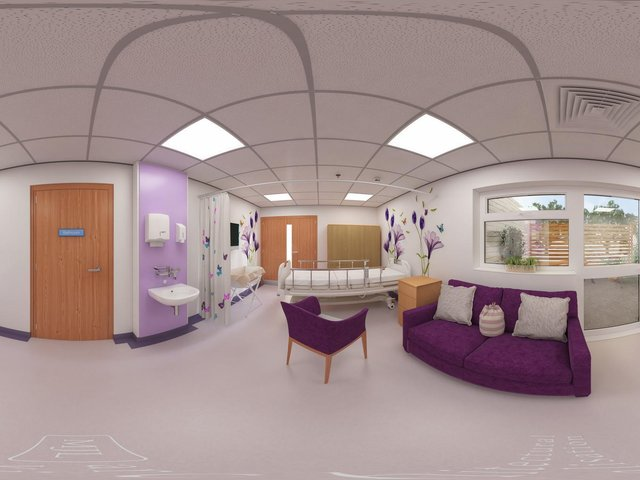 The suite will give bereaved families a chance to have some space