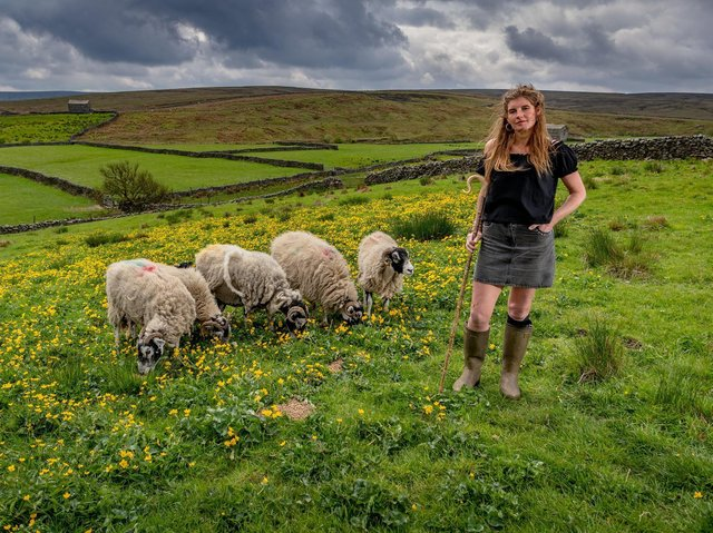 Amanda Owen has spoken about how filming of Our Yorkshire Farm was disrupted due to the coronavirus crisis.