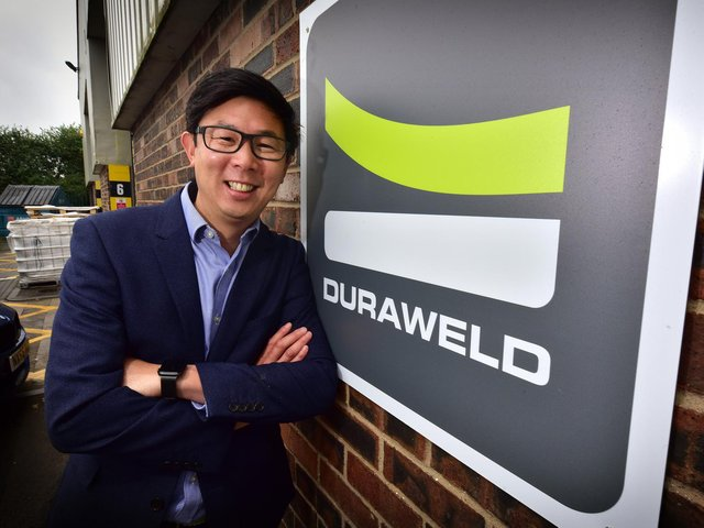 Duraweld in Scarborough has won a contract to produce PPE face masks .MD Mark Yeung at the second factory site. Picture: Richard Ponter.