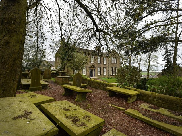 The Bronte Parsonage Museum in Haworth, near Keighley