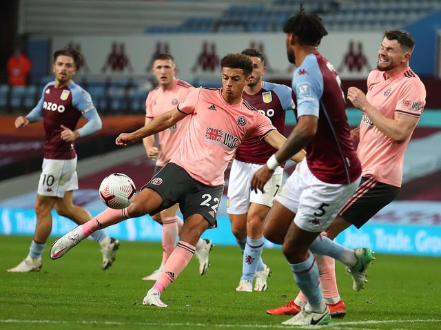 Aston Villa 1 Sheffield United 0 Player Ratings Yorkshire Post
