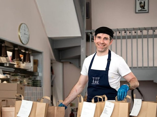 BAGGED TO GO: Bruce has diversified to develop new revenue streams at Elsworth Kitchen.