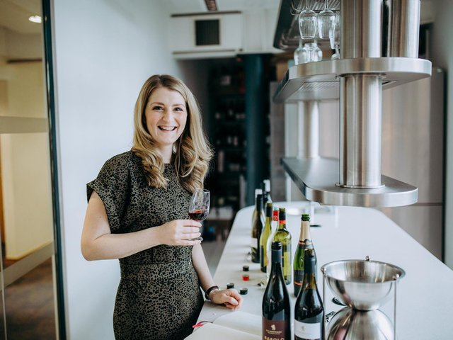 Wine buyer Victoria Anderson.