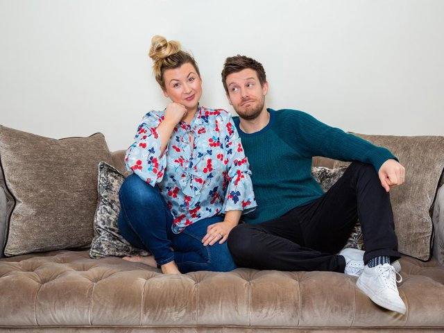 Rosie and Chris Ramsey have a popular podcast together.