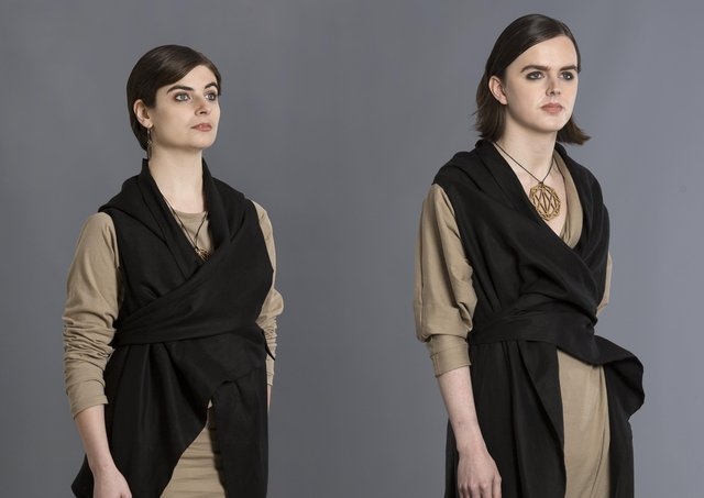 art of a collaboration with the HE SHE THEY? exhibition.