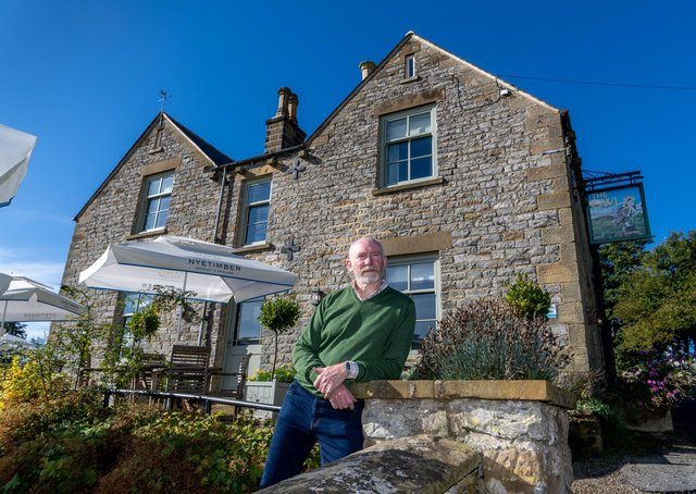Chris Hannon, managing director of Coastal & Country Inns, at The Owl, Hawnby in North Yorkshire. Picture: James Hardisty.