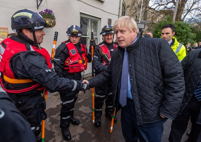 Boris Johnson first promised a Yorkshire-wide flooding summit during a visit to Fishlake last November.