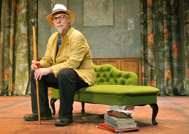 Barrie Rutter on stage at York Theatre Royal
