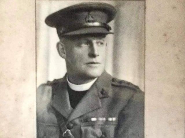 Former Vicar of Ossett Reverend George Marshall. Photo: Sent by Anne-Marie Fawcett, courtesy Duncan Smith of church council of Ossett.