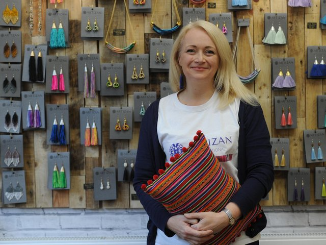 """Susie Hart MBE, managing director of Artizan, said: """"We had to swap from face to face craft sessions to video tutorials and zoom get togethers""""."""