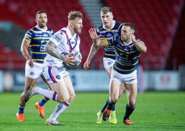 Wakefield's Tom Johnstone deserves to keep his place in the England squad, according to Trinity head coach, Chris Chester. Picture by Allan McKenzie/SWpix.com