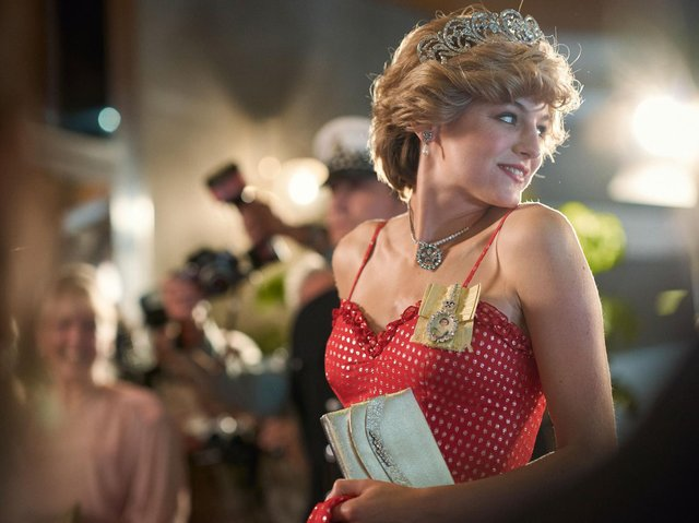 Emma Corrin as Diana Princess of Wales. Picture: PA Photo/Netflix/Des Willie.