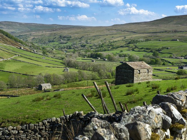 The lure of countryside like this in Swaledale and an ability to work from home is bringing more young families to the Dales