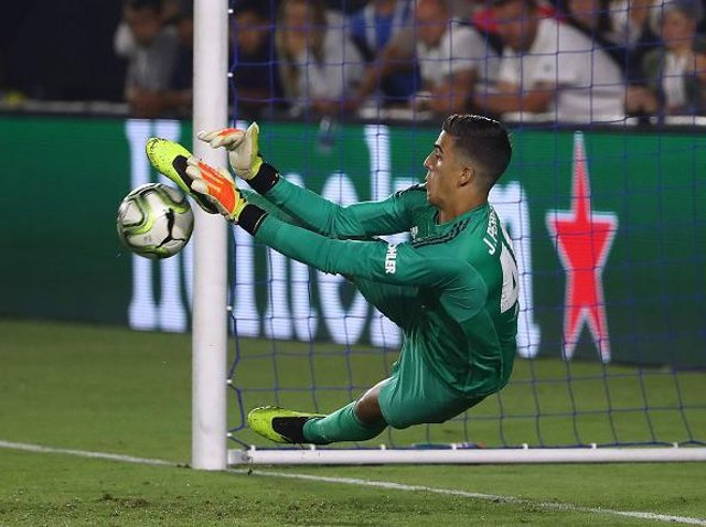 ERRORS: On-loan Huddersfield Town goalkeeper Joel Pereira