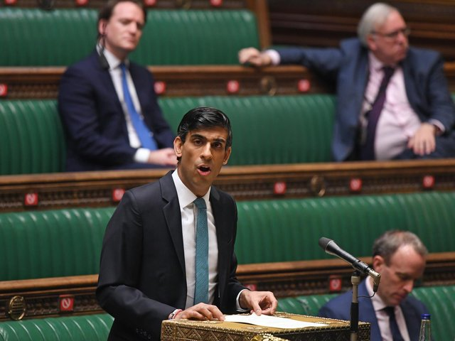 Chancellor of the Exchequer Rishi Sunak delivers his one-year Spending Review in the House of Commons. Photo: UK Parliament/Jessica Taylor