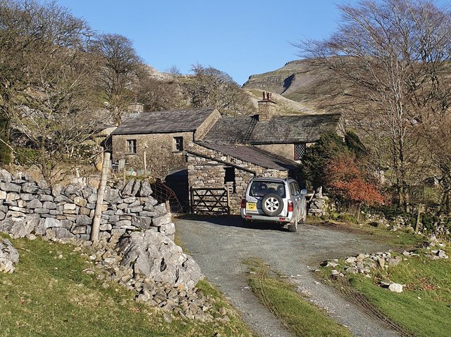 Crina Bottom farmhouse and its 11 acres of land are now for sale for offers over £425,000 with Neil Wright estate agents in Settle