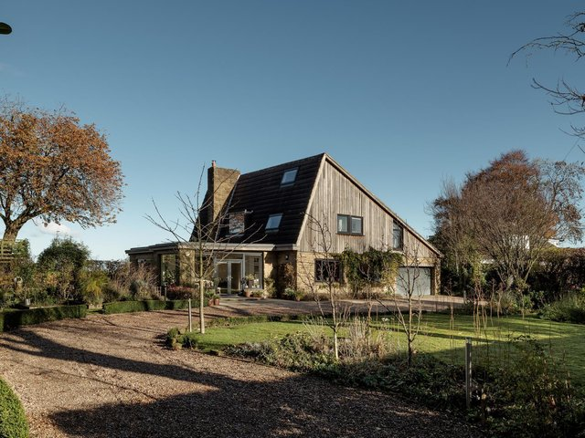 The Cyphers is a one-off,  mid-century home characterised by its distictive roof