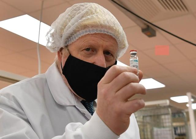 Boris Johnson and the Government are preparing to distribute a Covid vaccine.