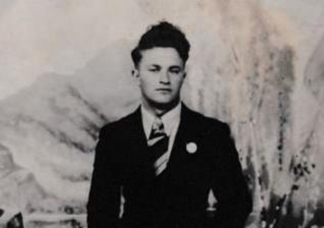 Henry Carr pictured in London in 1946.