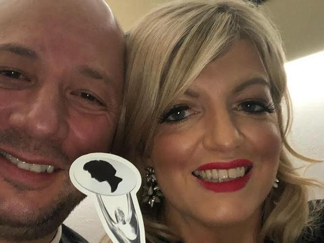Marcello Moccia and Karen Perry from Room 97 Creative, Leeds and Wakefield, have won North Western Hairdresser of the Year for the fifth time. The British Hairdressing Awards was hosted by TV presenter Rylan Clark-Neal, with nominees in virtual rooms.