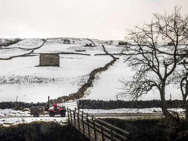 Winter conditions in the Dales