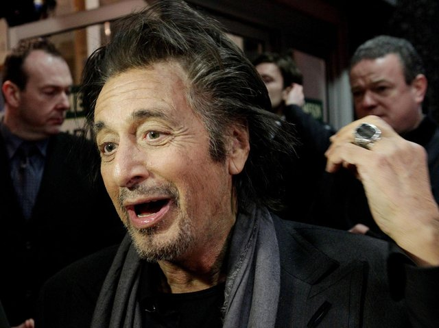 Anthony Clavane says 1972 film The Godfather, starring Marlon Brando, Al Pacino (pictured) and James Caan, remains his favourite film. Photo: Niall Carson/PA