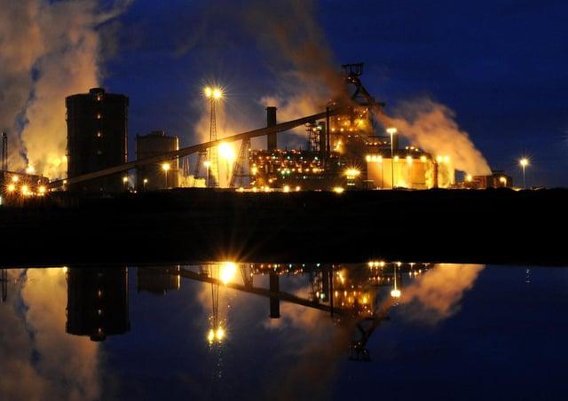 Redcar's steel works shut in 2015.