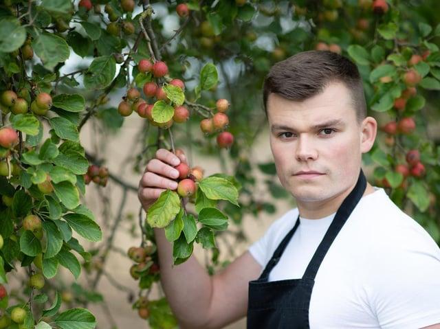 Chef Callum Williams. (Picture: Joan Ransley).