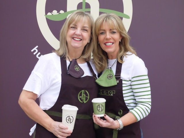 Best friends Jo Bradshaw and Nici Routledge have launched Hustle & Co in Harrogate.