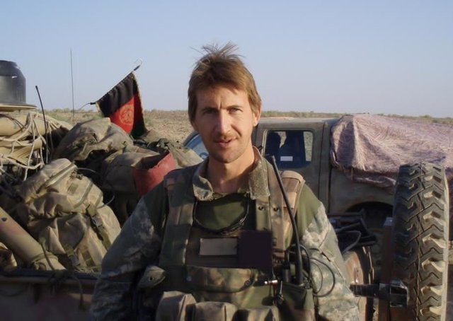 Dan Jarvis has written a new autobiography about his military service and the death of his wife Caroline.