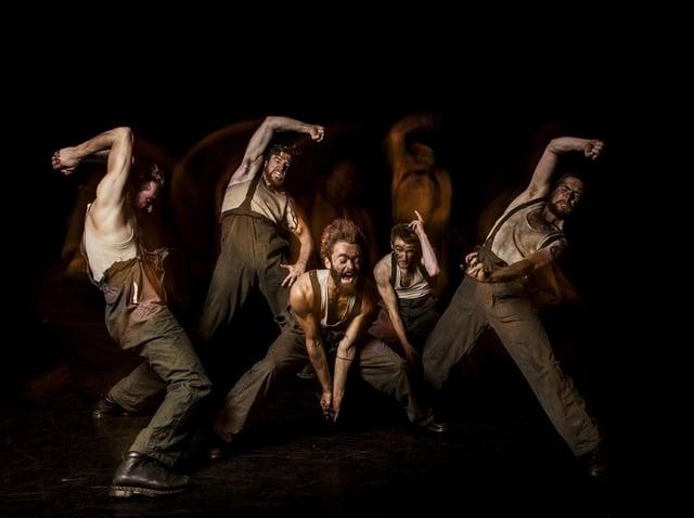 Social history: Acclaimed Barnsley choreographer Gary Clarke's dance piece Coal was performed at Barnsley Civic. Picture: Joe Armitage