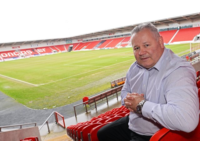 Confident: Doncaster RL chief executive Carl Hall. Picture: Marie Caley