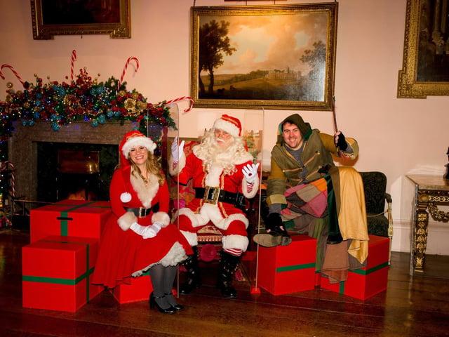 Christmas at Castle Howard. Photo: Emma Parslow, Little Sixpence Photography.